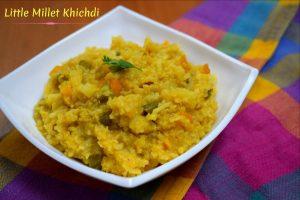 Little Millet Khichdi